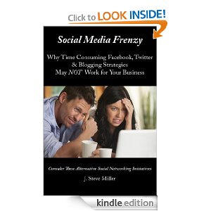 Book Cover for Social Media Frenzy